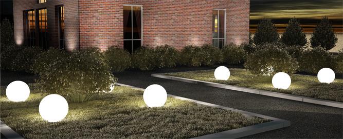 уличные светильники шары