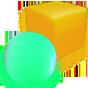 Светящиеся беспроводные шары, кубы и др.