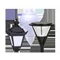 Плафоны светильники уличные на столб