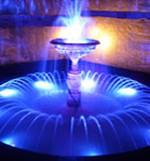 Подсветка водоёмов и фонтанов