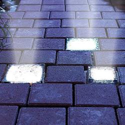 Тротуарная светодиодная плитка